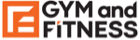 "Logo of a company ""Gym and Fitness"""